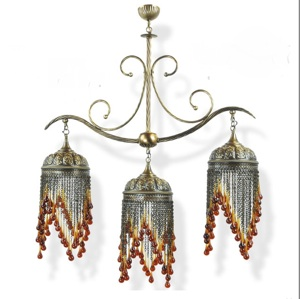 Turkish Teardrop Chandelier