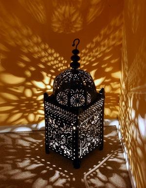 Moroccan garden lamps
