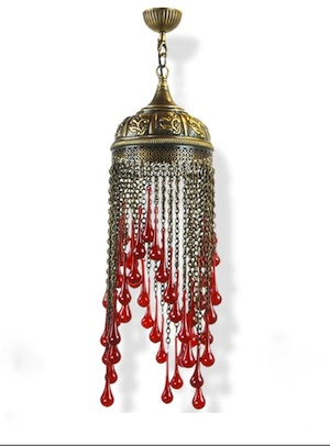 Turkish Lamp teardrop style