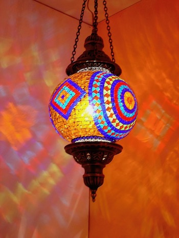 Traditional Turkish Mosaic Lamp