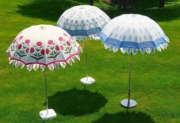 Indian Garden Parasols